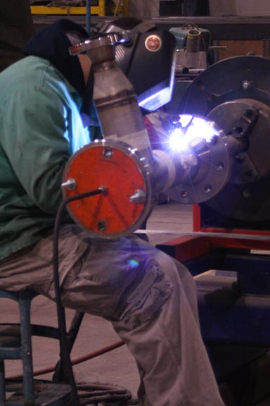 ASME Certified Welder