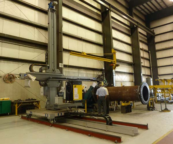 Cobey - ESAB submerged arc welding machine