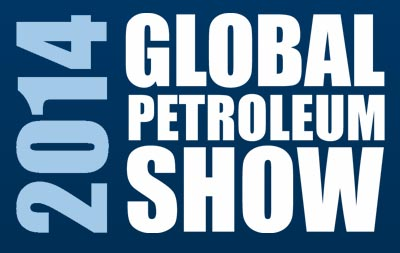 Global Petroleum Show 2014 Logo