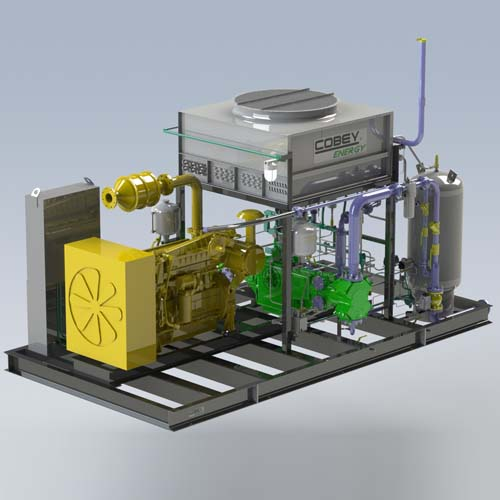 Cobey Energy CNG Compressor CADD Model
